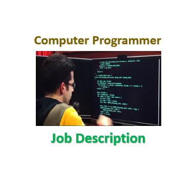 Computer Programmer U2013 Job Descript.