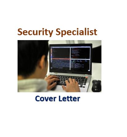 Security Specialist U2013 Sample Cover.